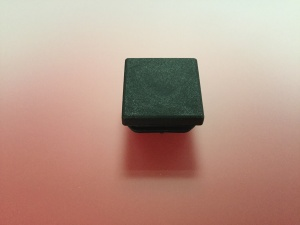Bouchon tube carré